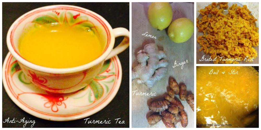 Home Brewed Turmeric Tea