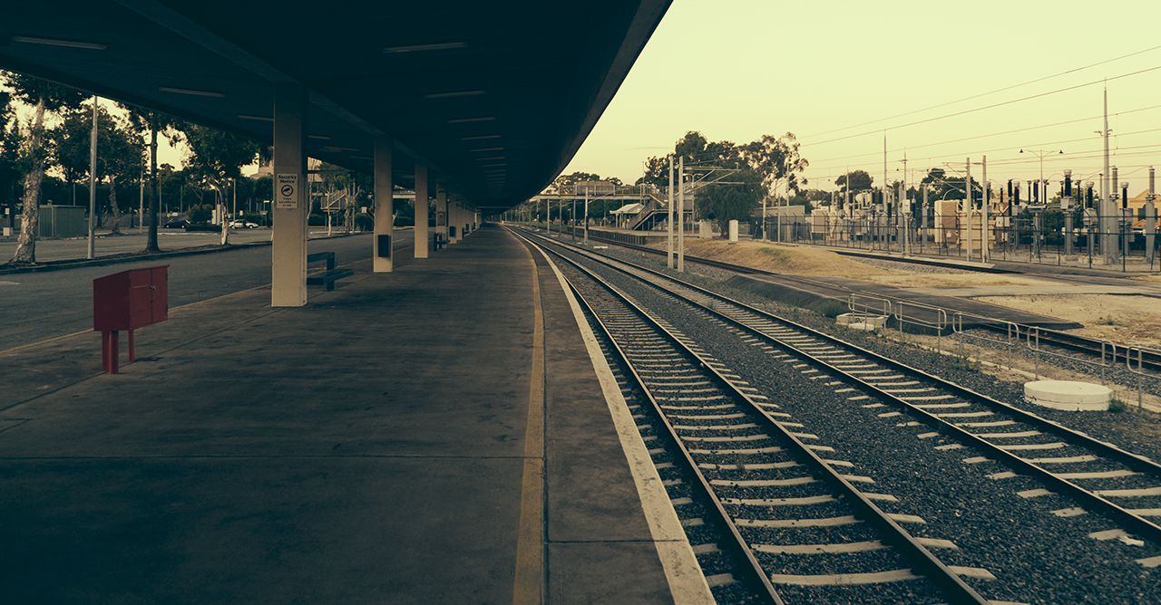 East Perth Train Station