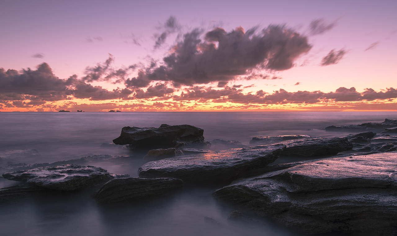 Sunset at Burns Beach