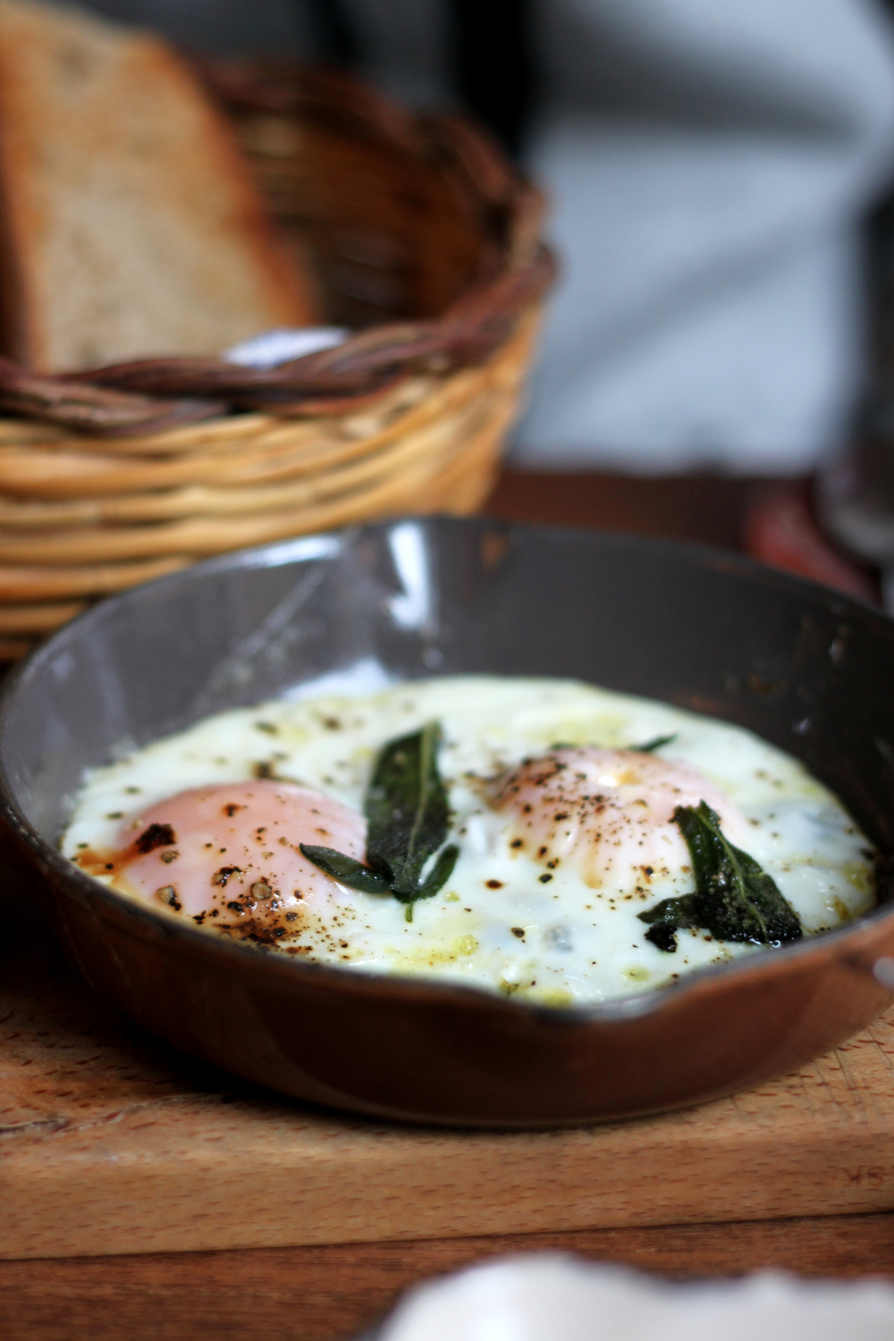 Fried Eggs & Sage