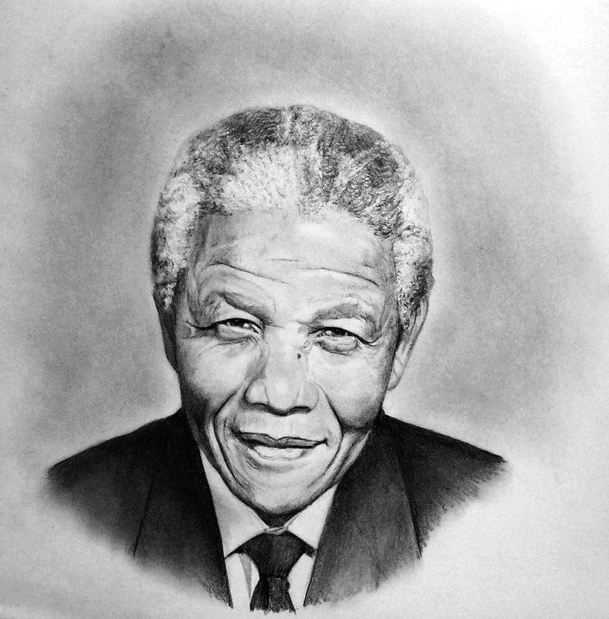Nelson Mandela by Akalinz