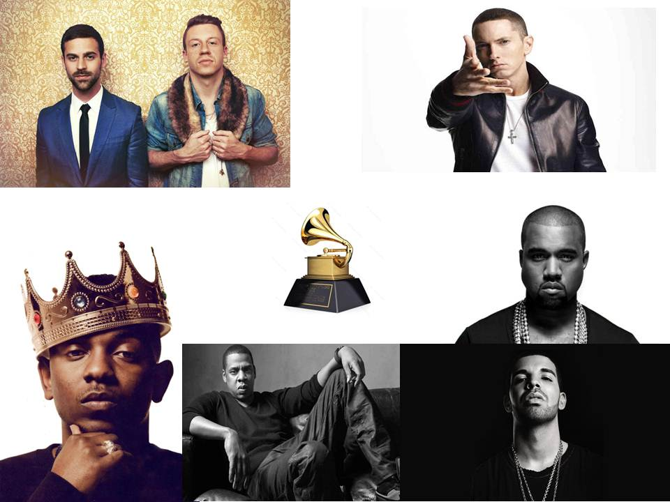 Nominees for Best Rap Album in 2013
