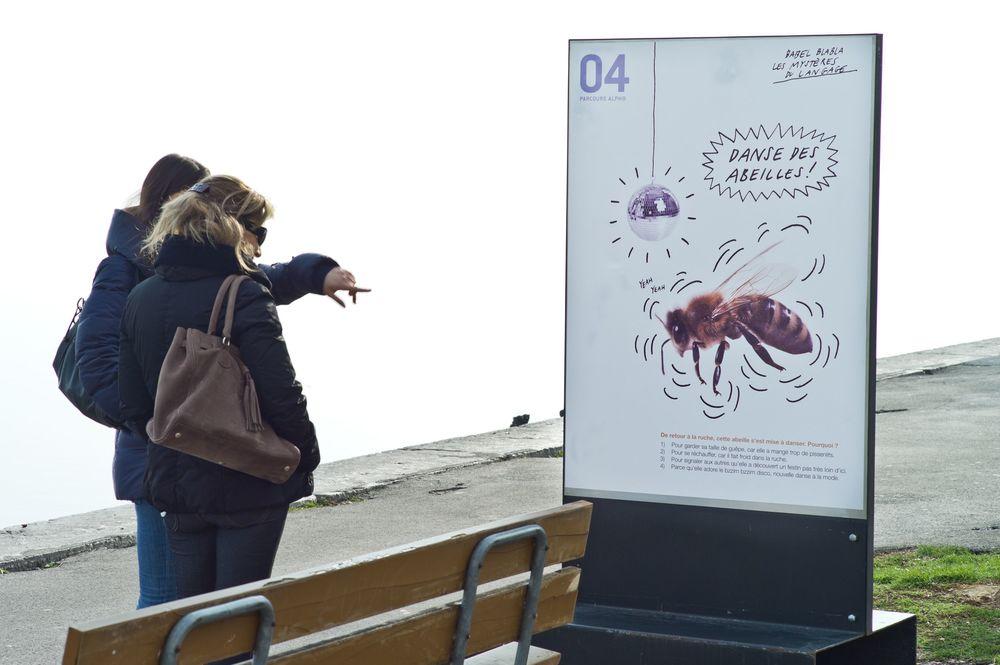 Parcours Alpha,   Babel bla bla les mystères du langage,  Neuchâtel, mars 2011