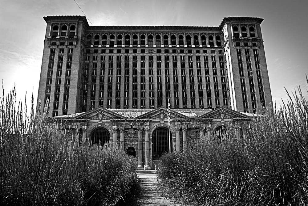 Michigan Central Station. One of the many icons of a city that once was.