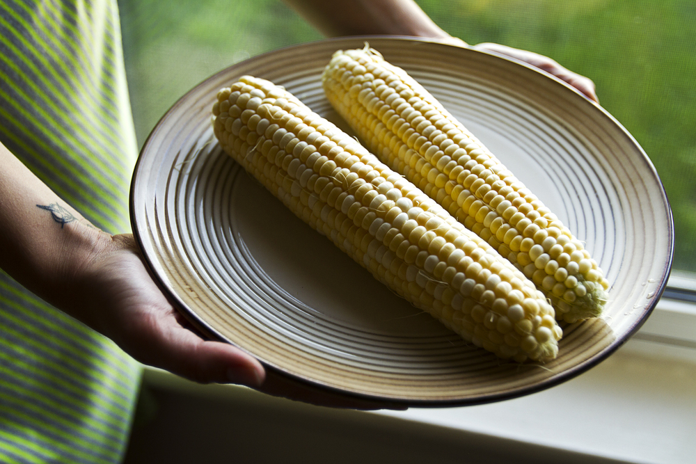 Big Tom's famous extra sweet corn.