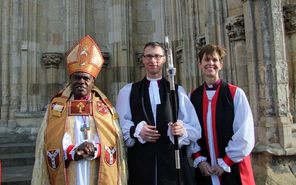 Bishops Sentamu, North, and Lane.