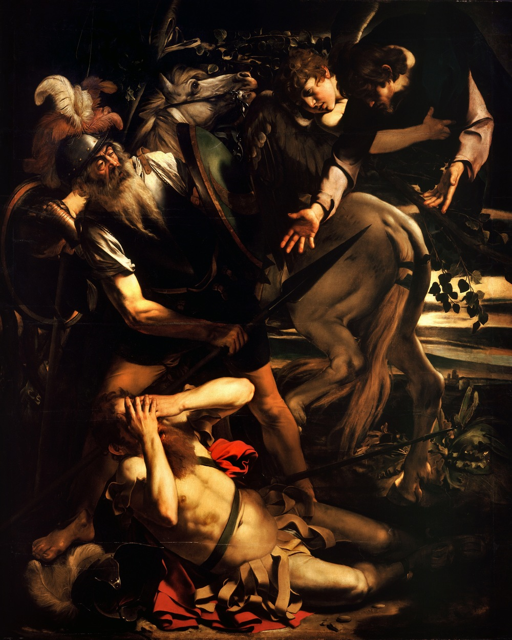 Carravaggio- The Conversion of St. Paul