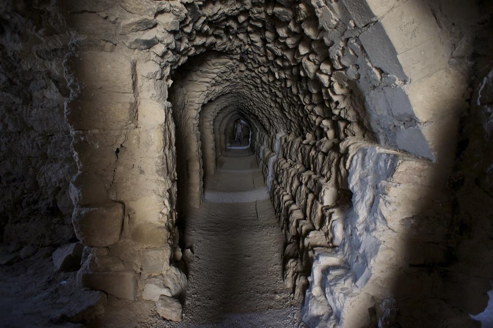 Under the Roman Fort, Jordan