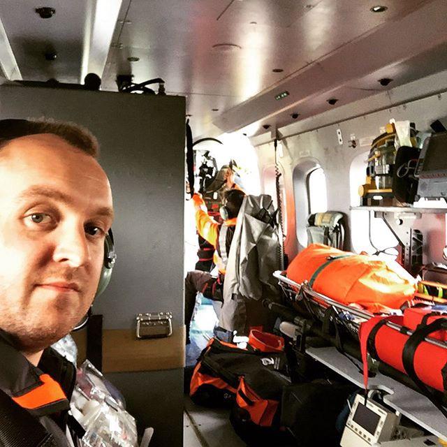 Mandatory helicopter #selfie #coastguard #ircg #sar #s92