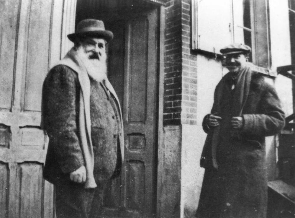 Claude Monet et Gaston de Villers
