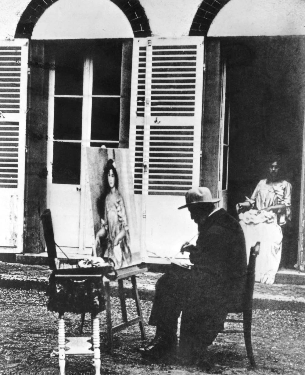 Renoir au Pavillon de Bellune