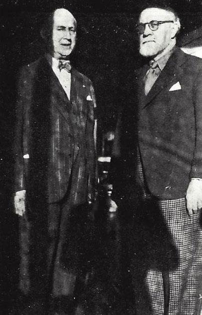 Matisse et Gaston Bernheim de Villers
