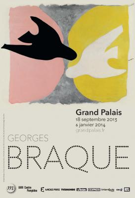 Exposition George Braque au Grand Palais, Paris, jusqu'au 6 Janvier 2014   George Braque exhibition at the Grand Palais, Paris, until January 6, 2014
