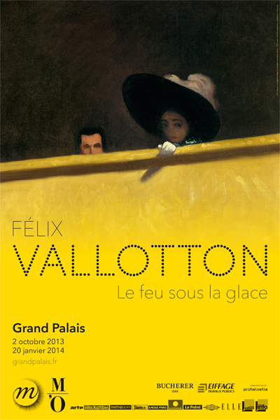 Exposition Felix Vallotton au Grand Palais, Paris, jusqu'au 20 Janvier 2014   Felix Vallotton exhibition at the Grand Palais, Paris, until January 20, 2014