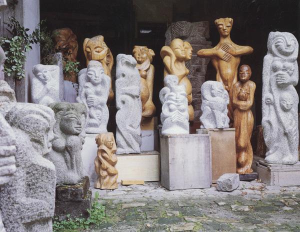 Sculpteur survivant.Un reportage de Samuel Muller