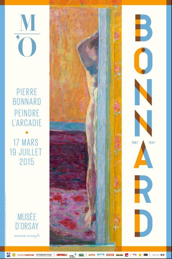 Exposition BONNARD au Musée d'Orsay, été 2015 Exhibition BONNARD at Musée d'Orsay, Paris, summer 2015
