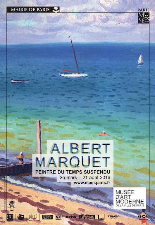 Exposition MARQUET au Musée d'Art moderne, été 2016-Exhibition BONNARD at Musée d'Art moderne Paris, summer 2016