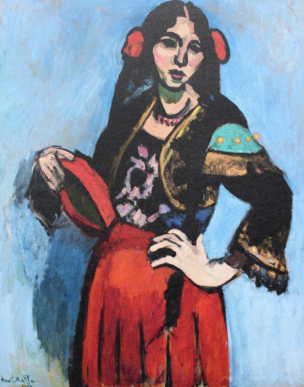 H. Matisse ,  L'Espagno l - DAUBERVILLE. T1, n°90