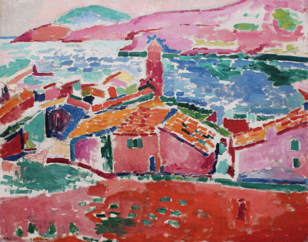 H. Matisse,  Collioure , DAUBERVILLE, T1, n°66