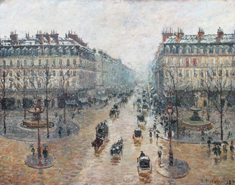Camille Pissarro,  Avenue de l'Opéra