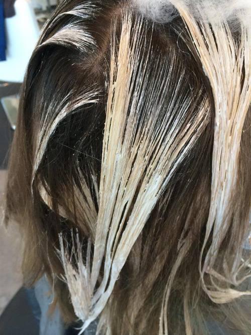 More Sun Kissed Hair Painting Michele Sanford Hair