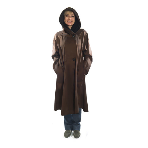 dc1d74caff3 Mycra Pac Raincoat Bronze Donatella Tea — Going In Style