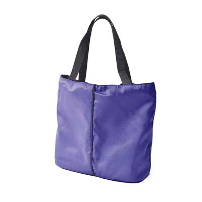 Stadium Grape Raincoat Tote Bag
