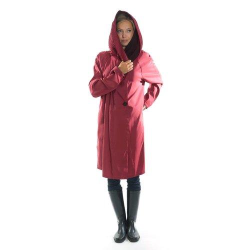 3ec32097d90 Mycra Pac Raincoat Red Donatella Short. short red new3.jpg