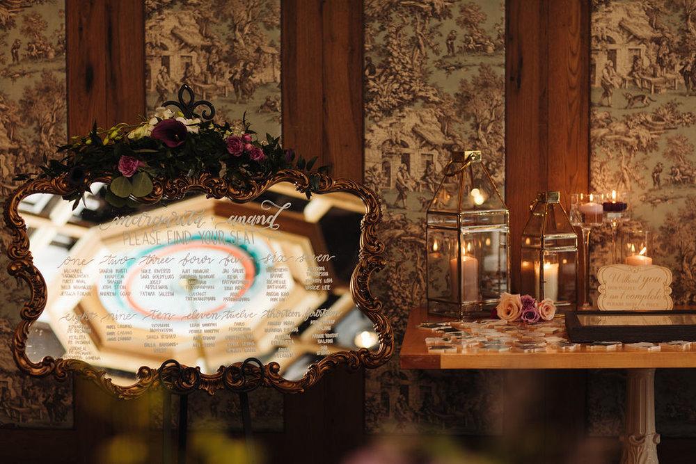 planner: Kimi Arya Events | decor: Lemon Truffle Designs | photographer/videographer: AGI Photography | brunch reception venue: Cluny Bistro and Boulangerie | lettering: Kimi Arya Events