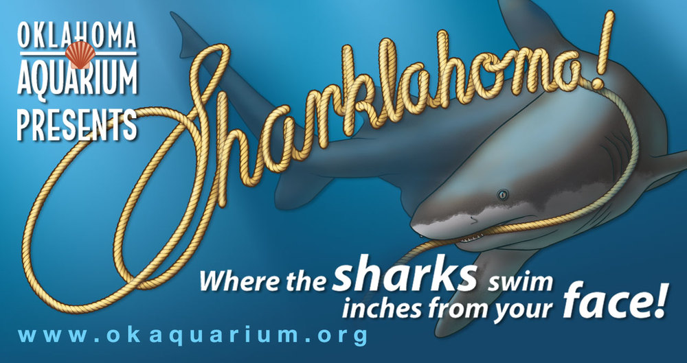 Advertisement Design for the Oklahoma Aquarium