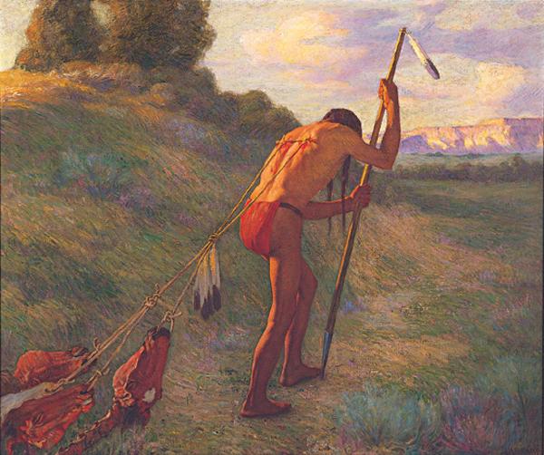 The Stoic, 1914 Joseph Henry Sharp