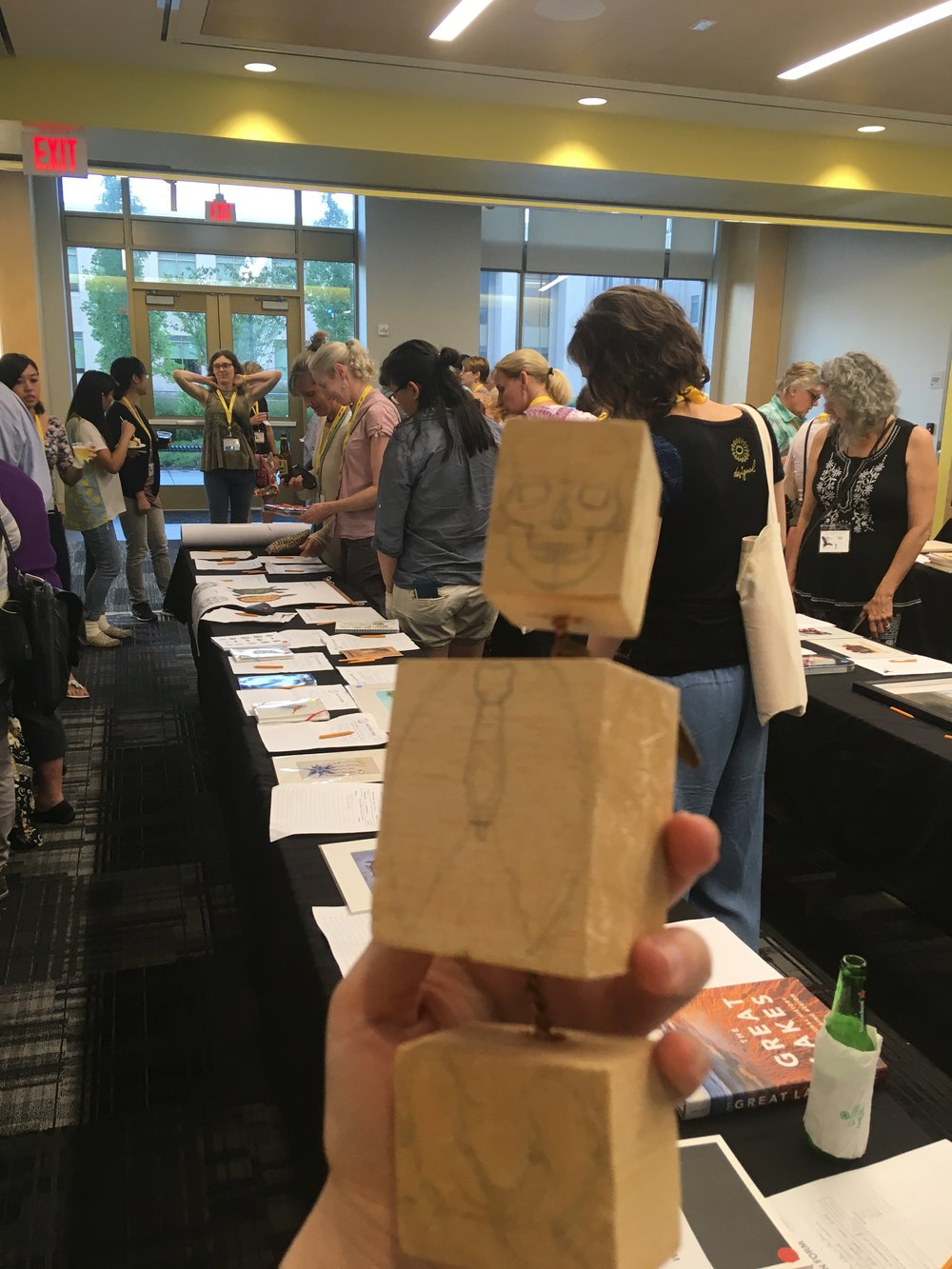 Figure Drawing blocks at the auction