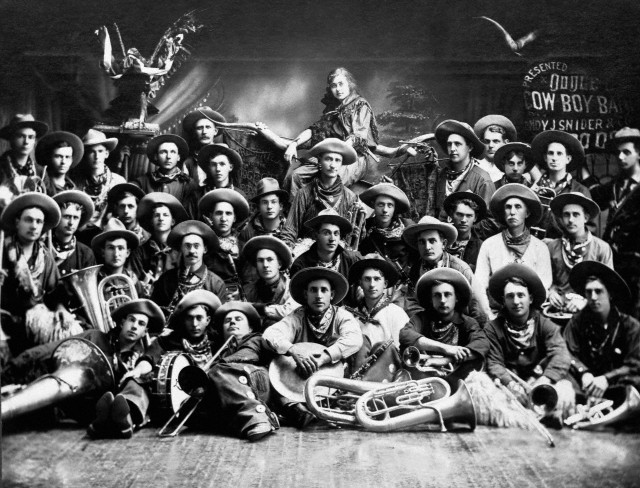 Dodge City Cowboy Band 1911