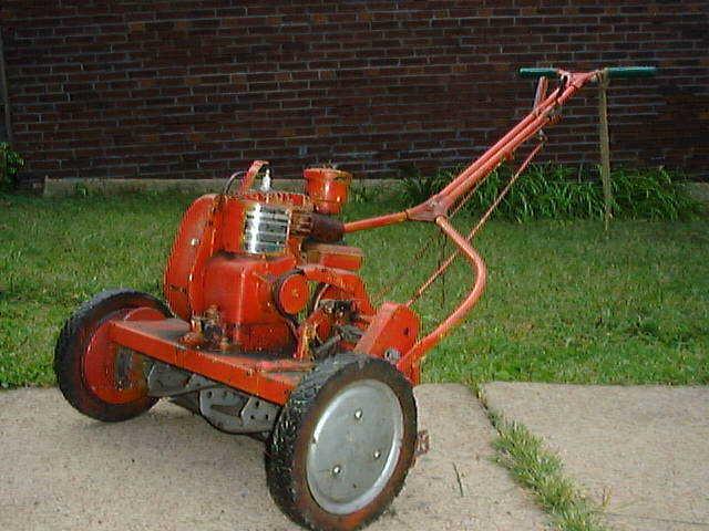 Early Power Lawnmower