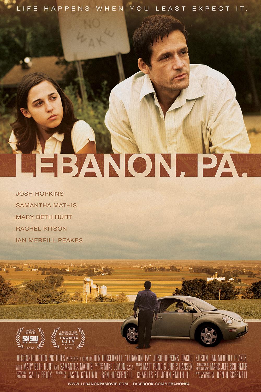 Lebanon, Pa (Theatrical Poster)