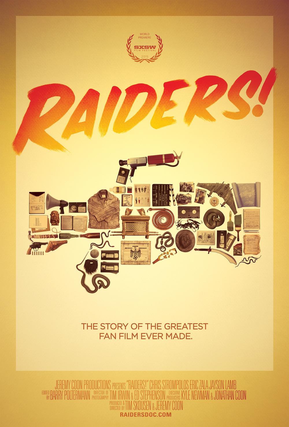 Raiders! SXSW Poster