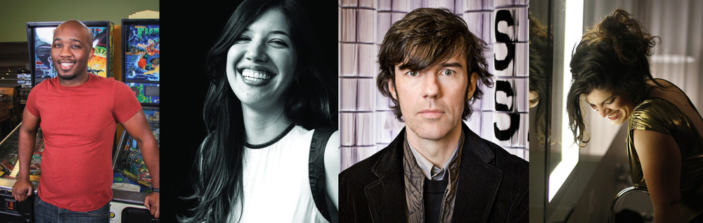 A few of my favorite speakers from this year's Weapons of Mass Creation.(Left to Right) Jay Wallace, Isabel Urbina Peña, Stefan Sagmeister, Jillian Adel