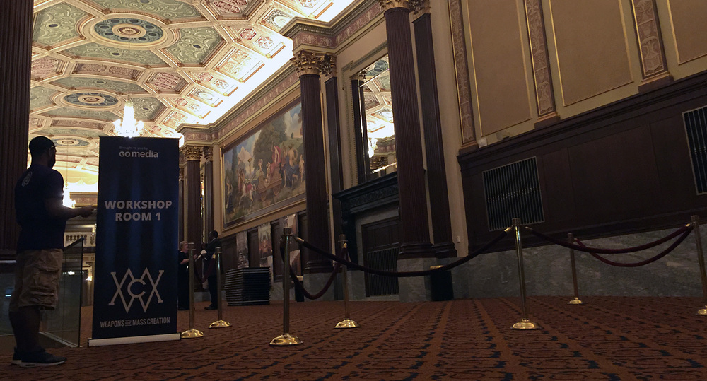 A look inside the lobby of the spectacular Ohio theatre