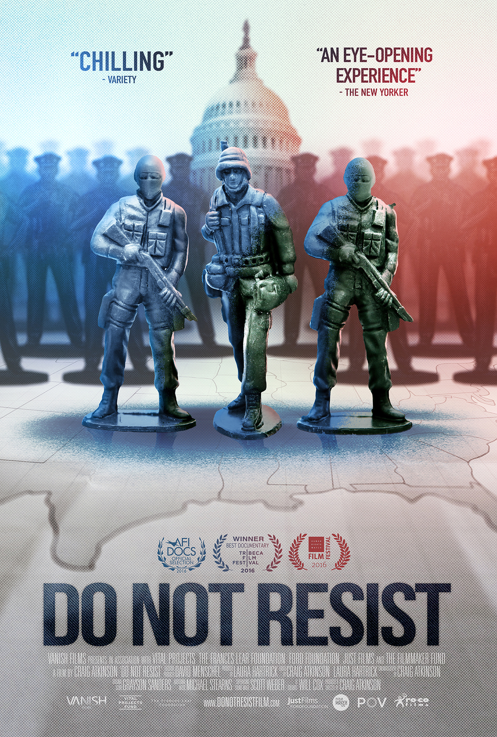 Do Not Resist, poster