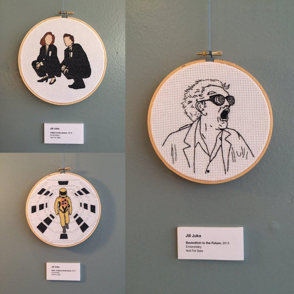 Embroidery Hoops by Jill Juka
