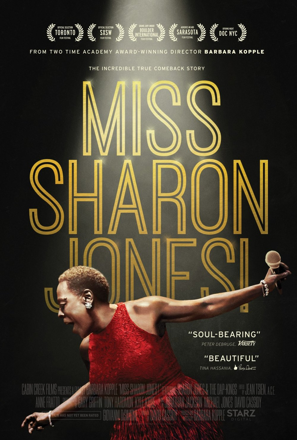 Miss Sharon Jones (by Gravillis)