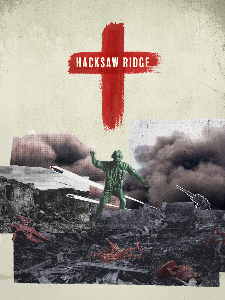 Hacksaw Ridge (Poster by Brandon Lee)