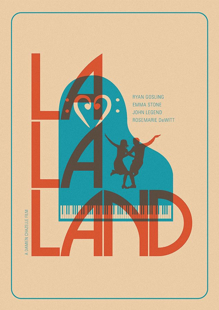 La La Land (Poster by Matt Needle)
