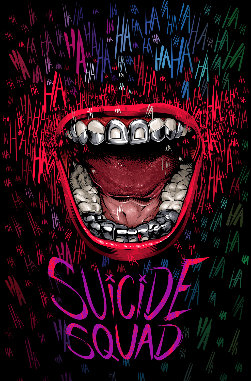 Suicide Squad (Poster by Cristiano Siqueira)