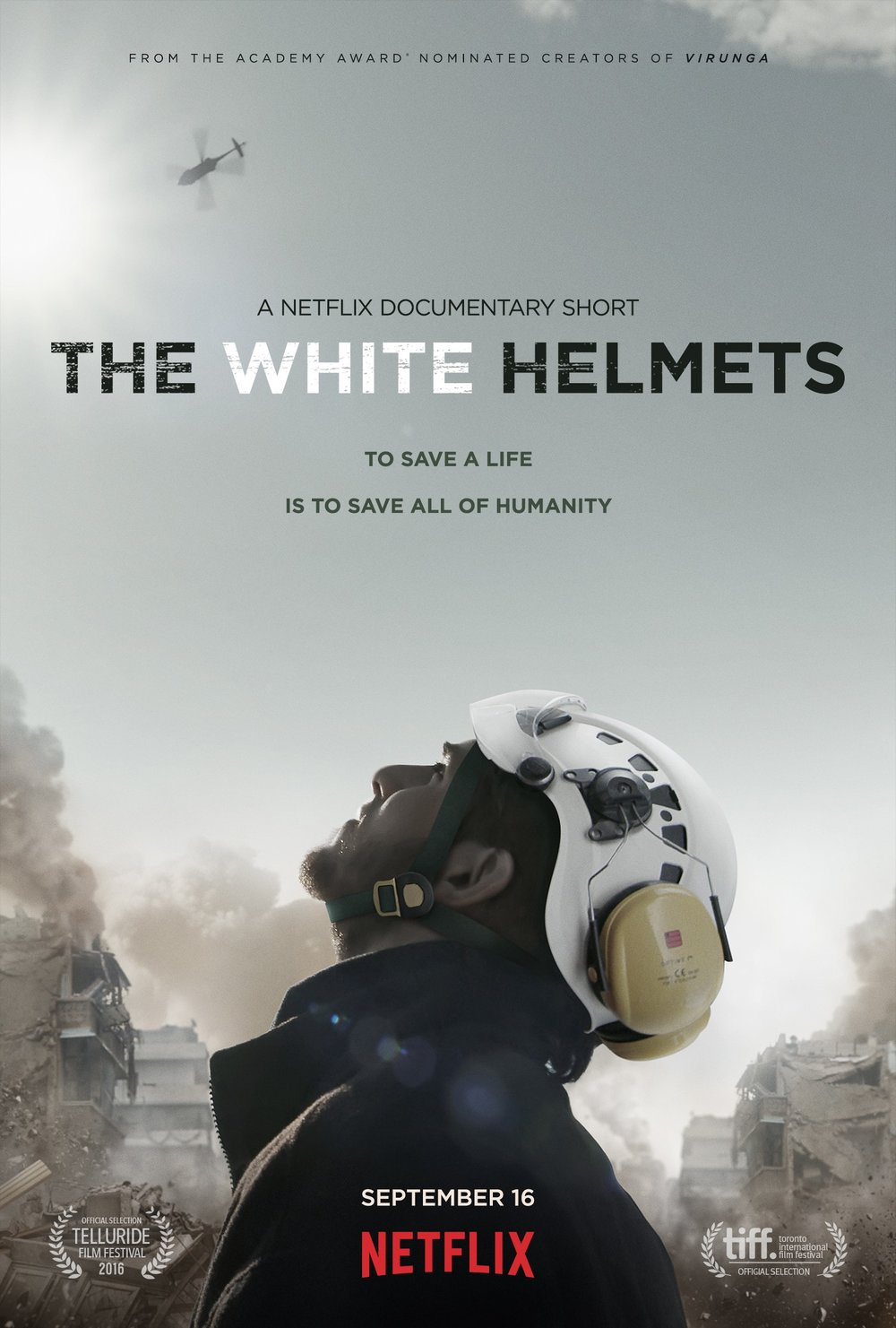 The White Helmets (Poster artist unknown)