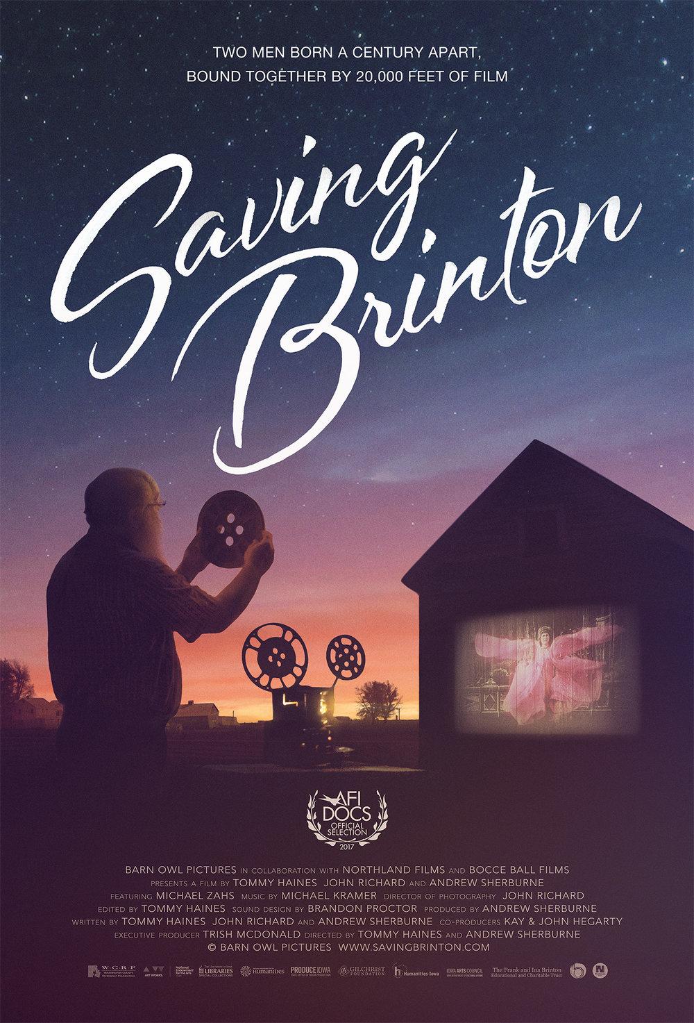 Saving Brinton, Festival Poster