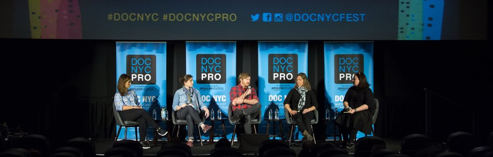 DOC NYC PRO panel (Photo by  Lou Aguilar )