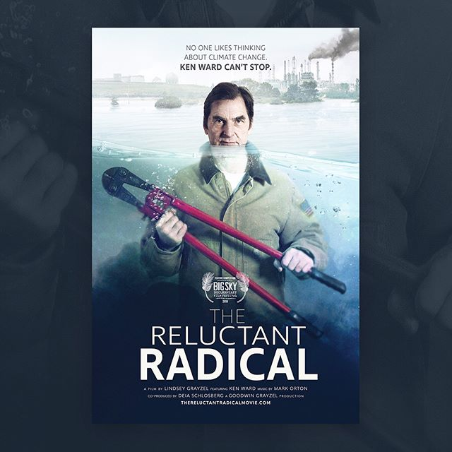 New Work: Key art for The Reluctant Radical #variantportfolio