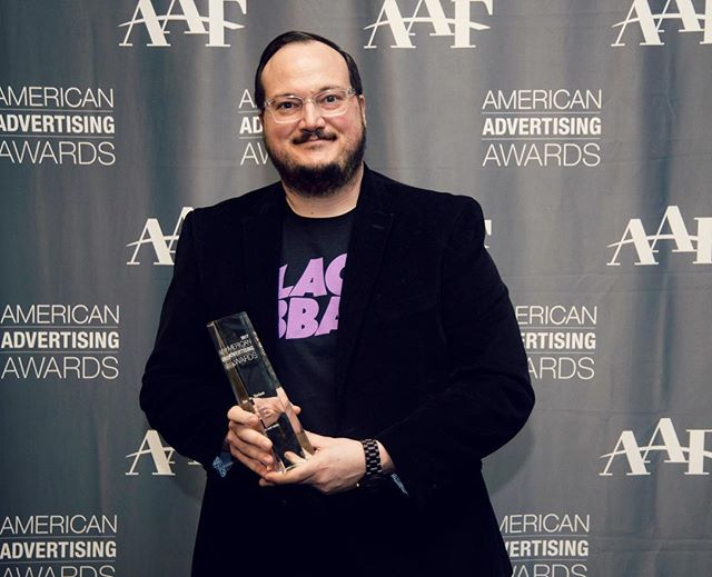 Hello gorgeous! Check out that beautiful award being awkwardly handled by some weirdo. Thanks for the love @aafnepa