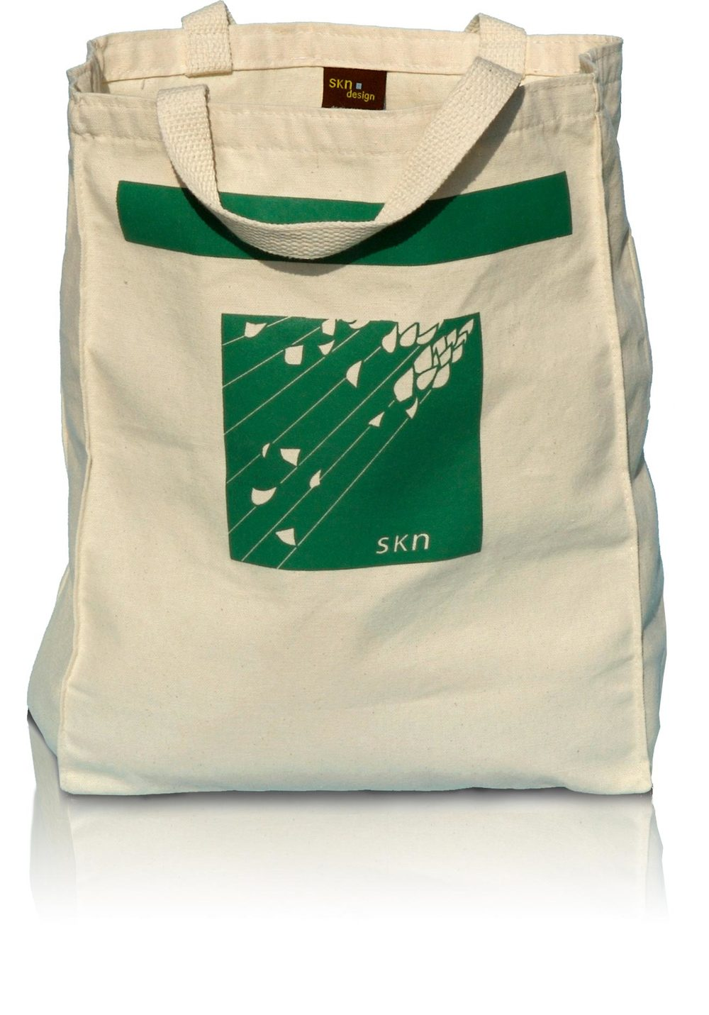 Reusable Grocery Tote—The Asparagus Bag